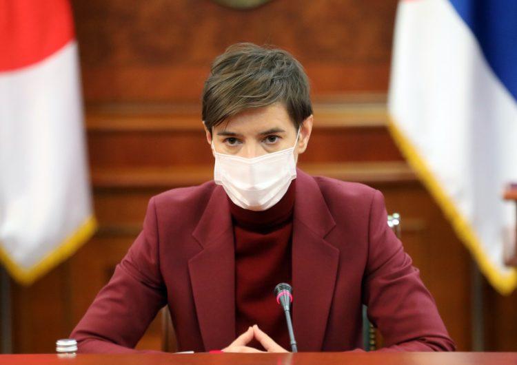 Brnabić: Želimo da proizvodimo rusku vakcinu, stručnjaci Torlaka idu u Rusiju
