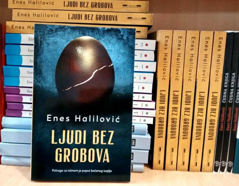 """Roman """"Ljudi bez grobova"""" Enesa Halilovića među sedam finalista za najveće književno priznanje"""