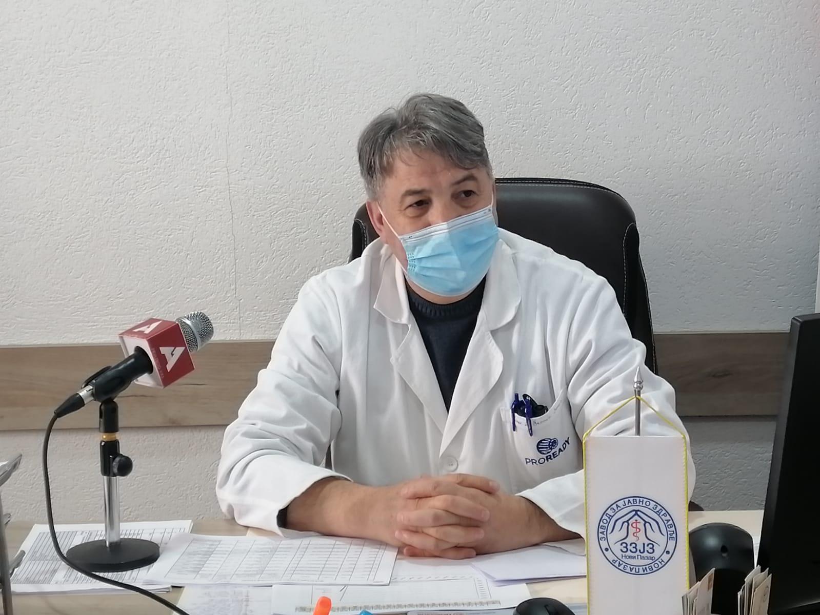 Koje očekivane reakcije su imali Novopazarci po primanju vakcine?(video)