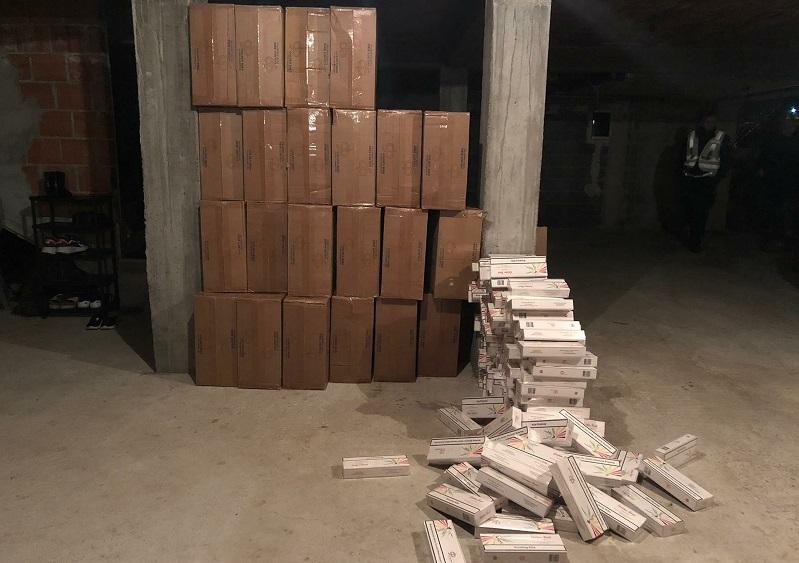 Zaplenjene cigarete vredne dva miliona dinara