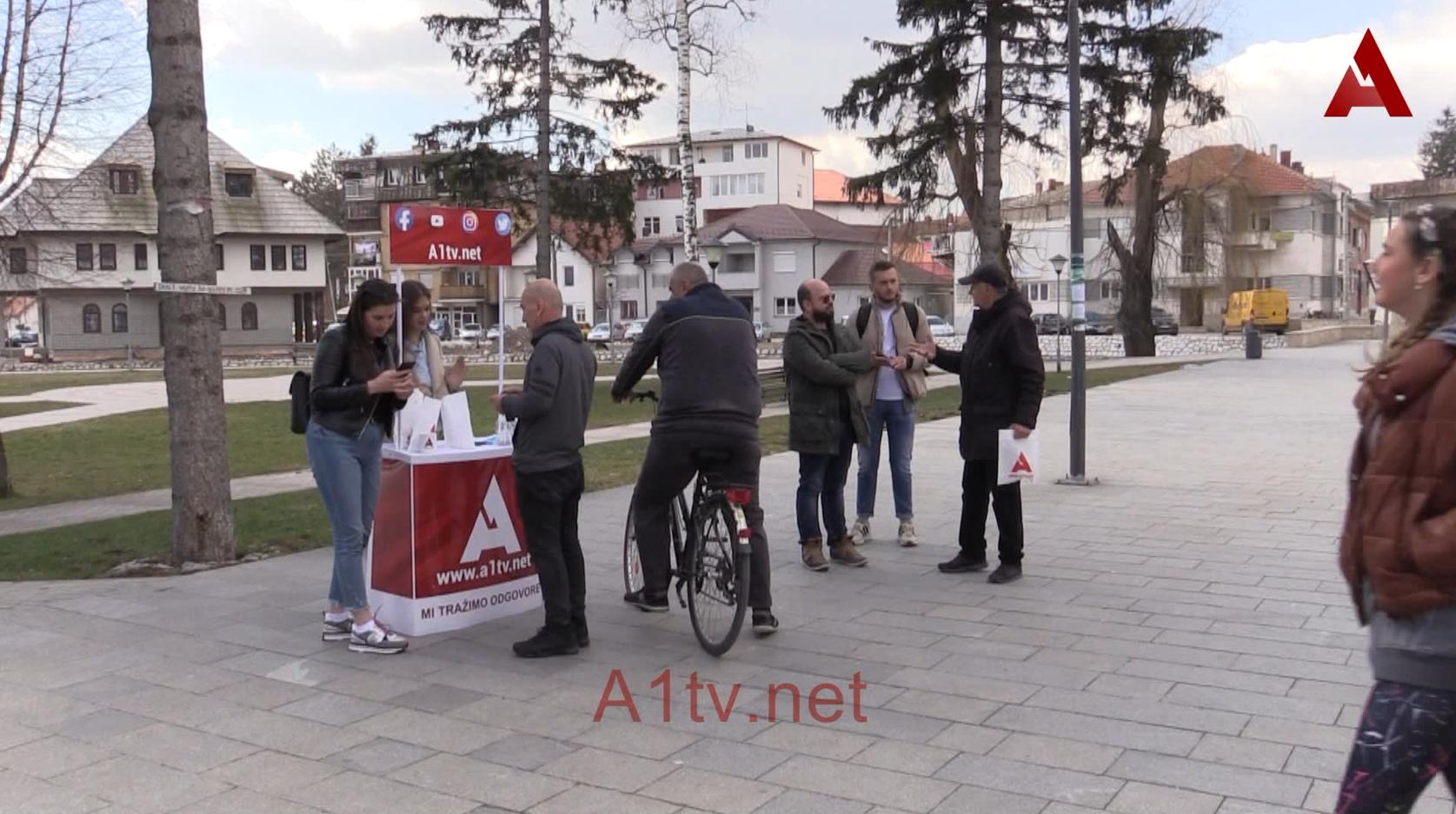 Upoznavanje građana Sjenice sa radom portala A1