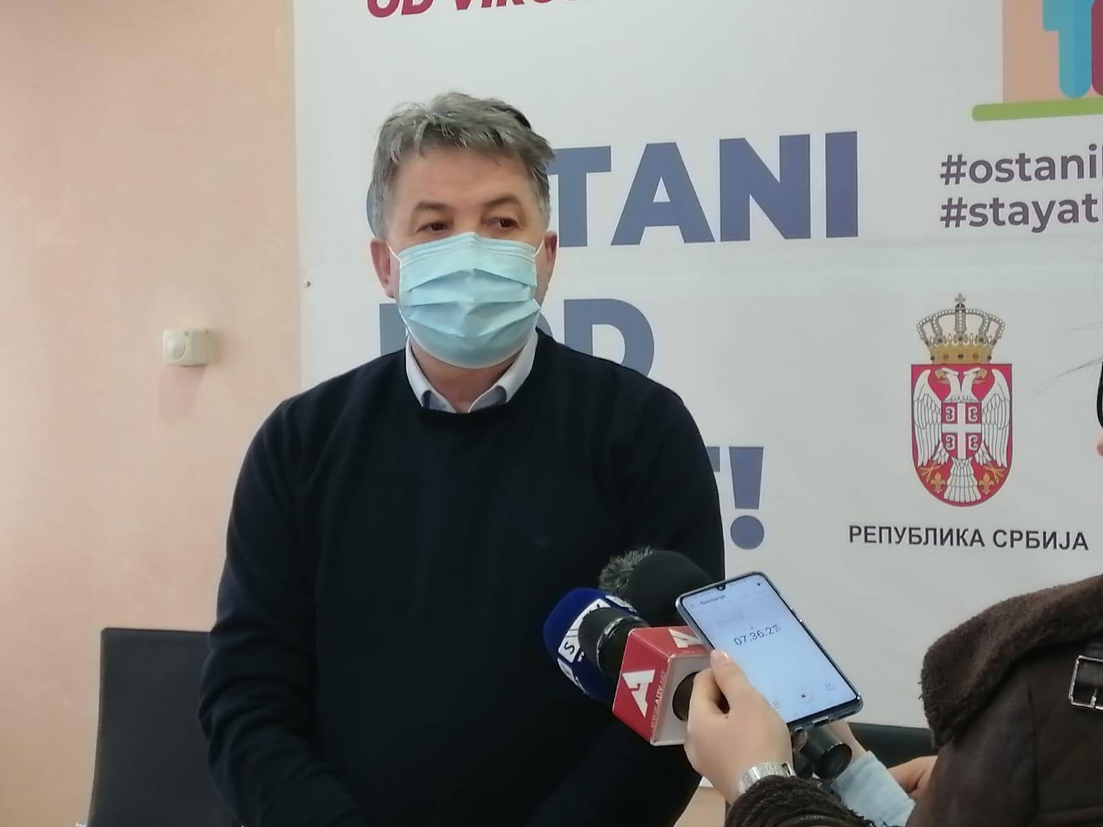 Štab: U bolnici uglavnom nevakcinisani građani (video)