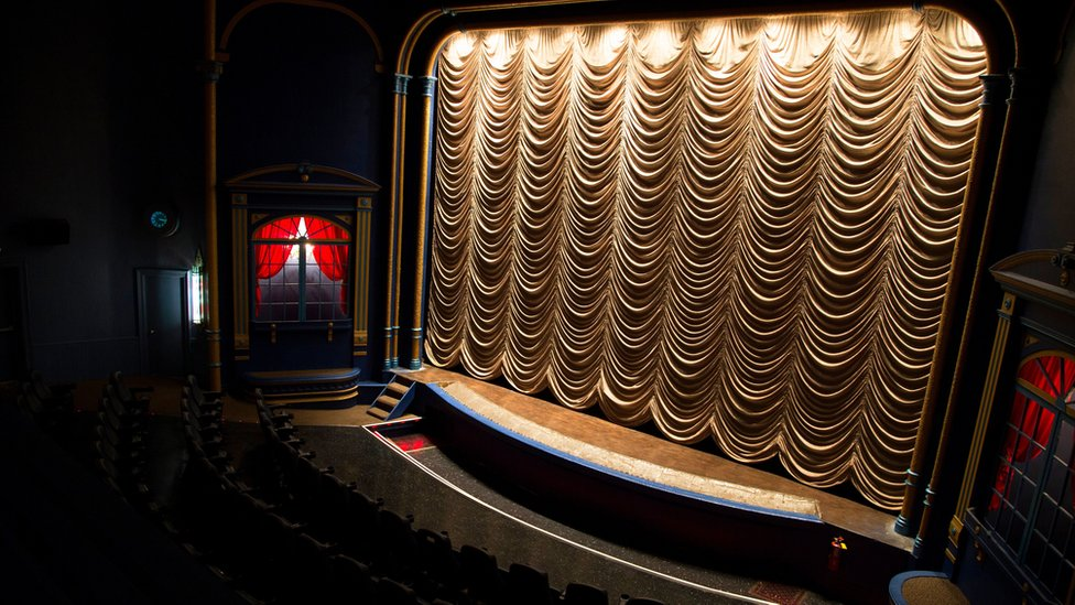 The interior of the State Theatre
