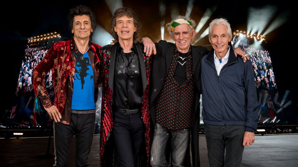 The Rolling Stones, 2017