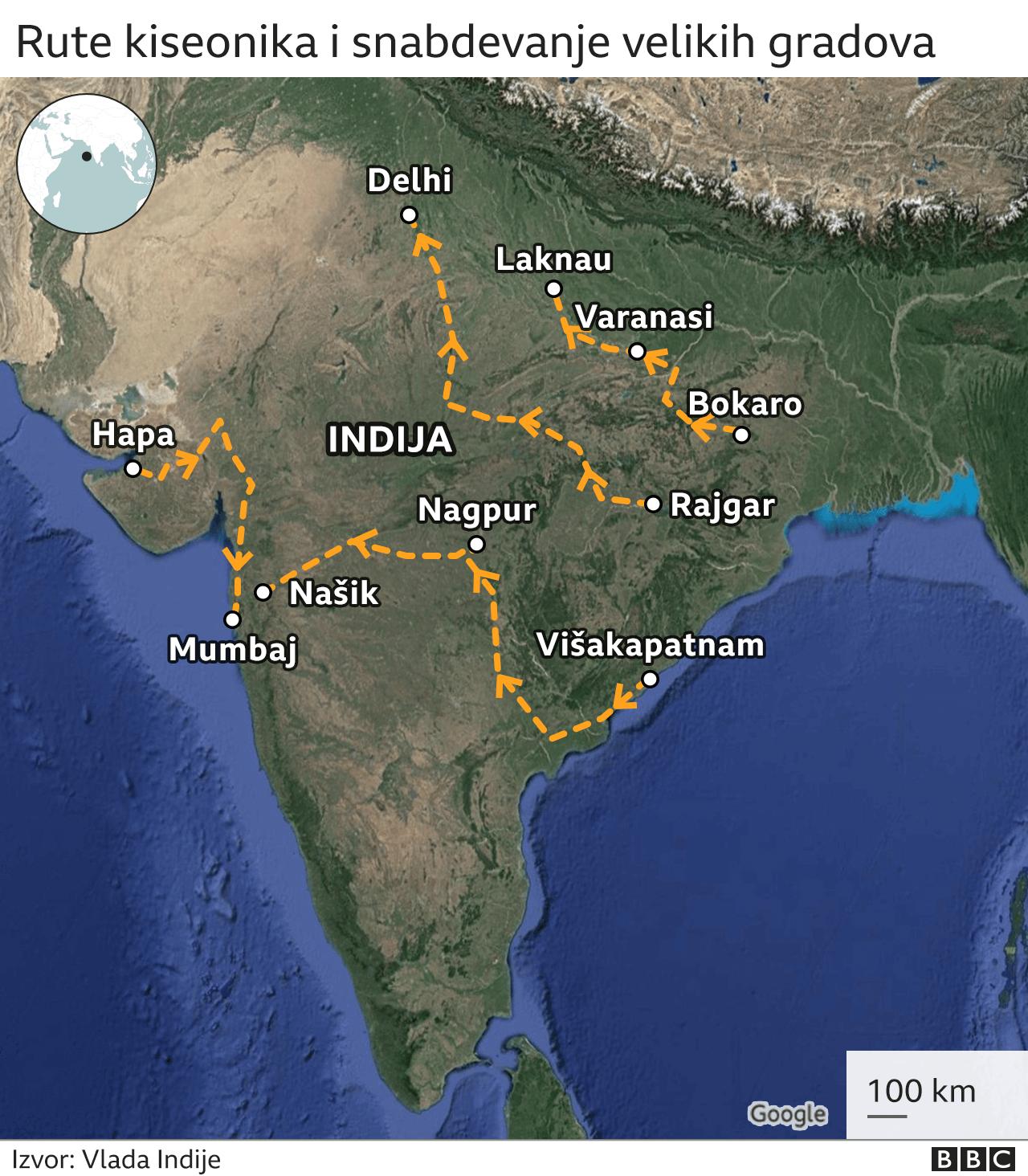 indija korona virus