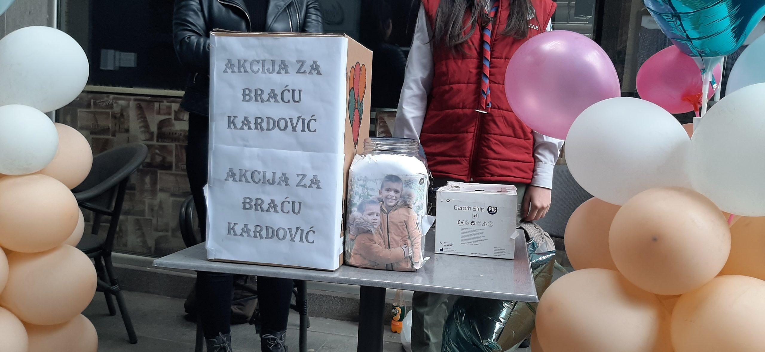 Rožajci prikupljali pomoć za braću Kardović u Novom Pazaru(video)