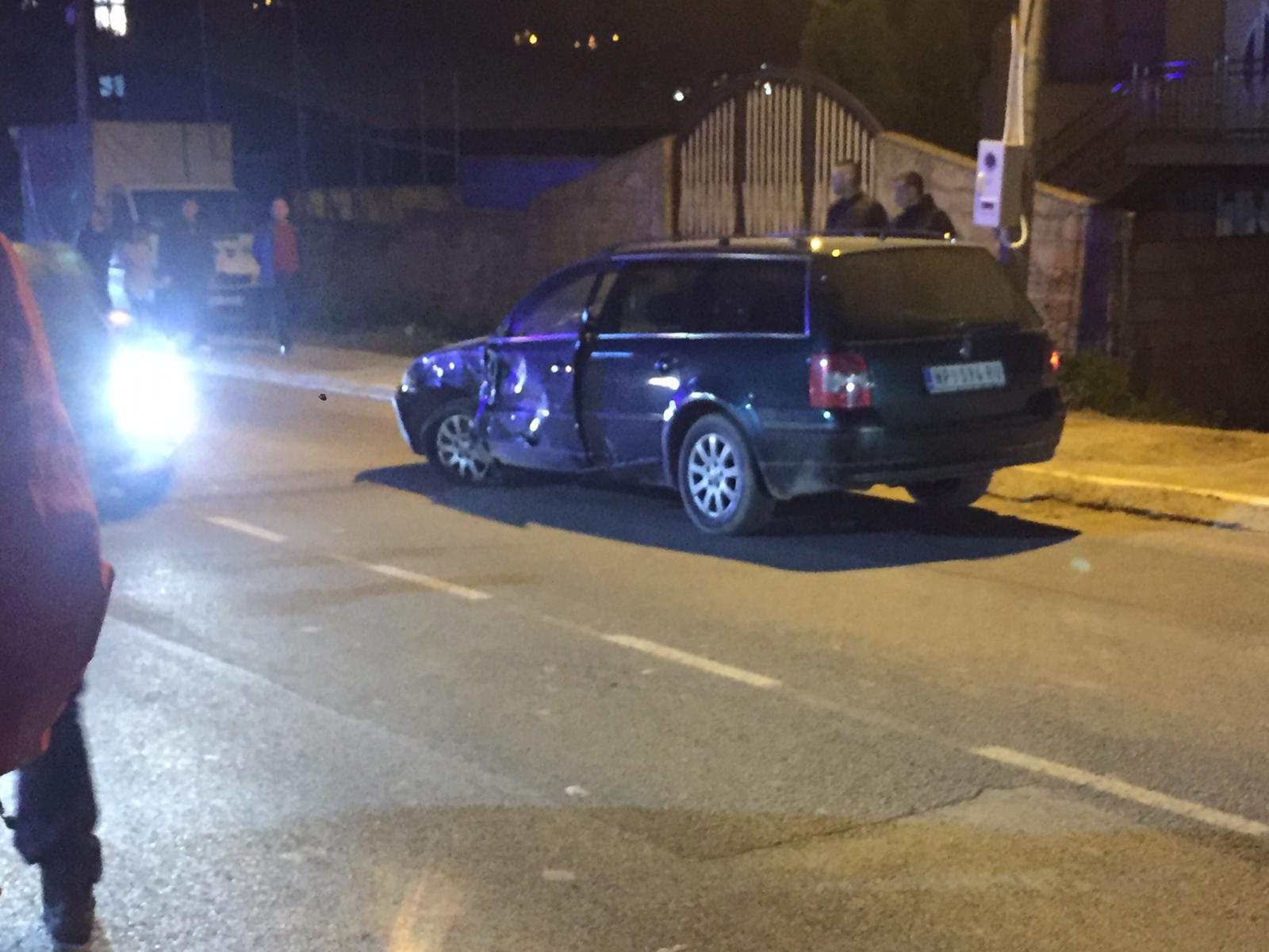 Povređene dve osobe u udesu u Novom Pazaru (video)