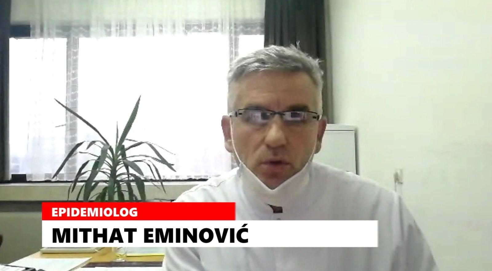 Eminović: Povećanje zaraženih se očekuju za nedelju dana