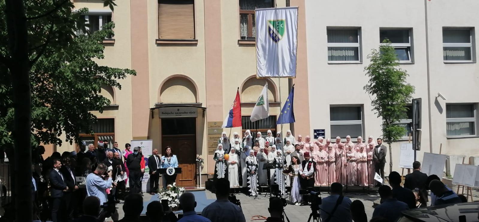 Svečano obeležen Dan bošnjačke zastave (video)