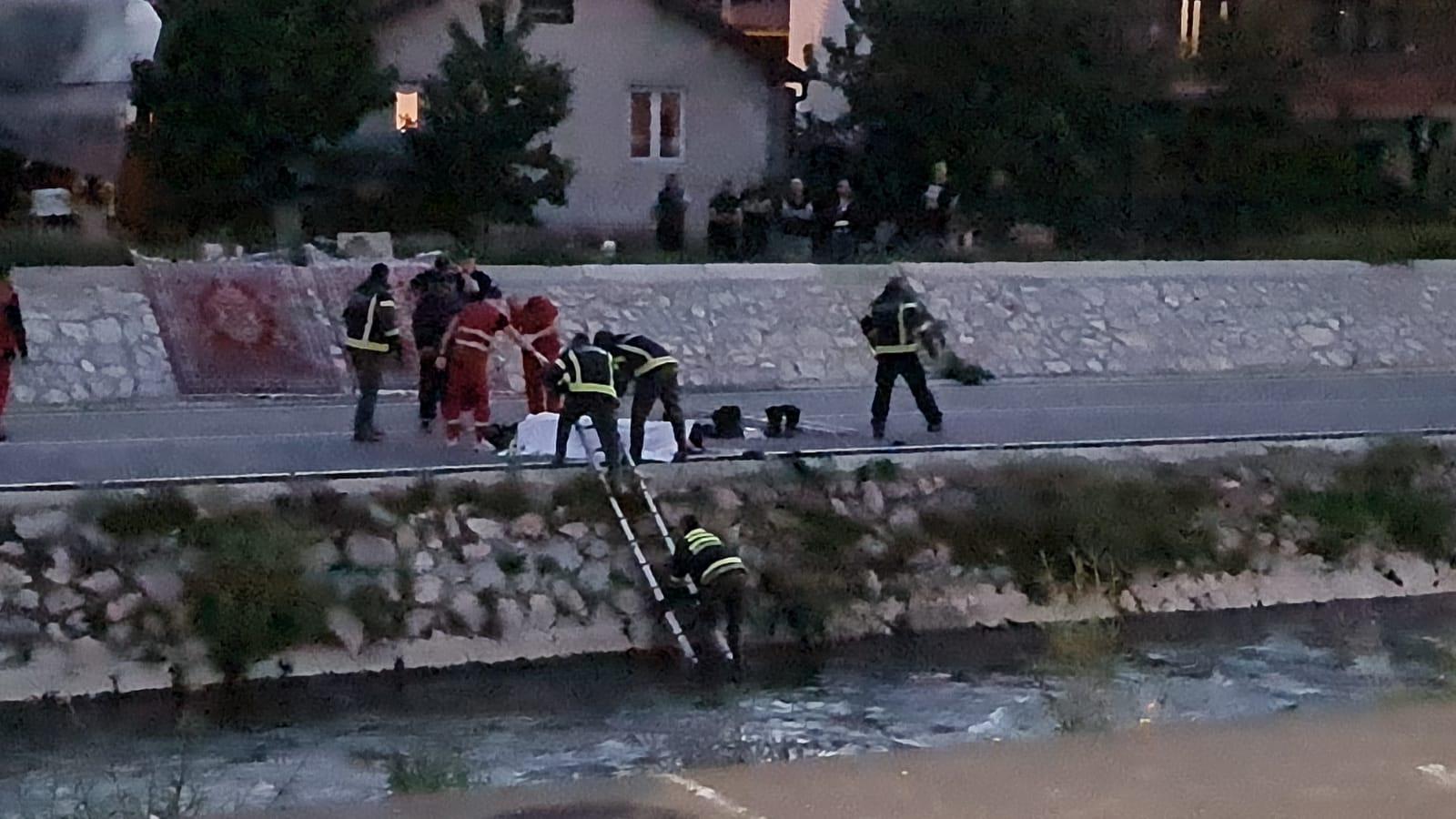 Beživotno telo ponađeno u reci Raška u Novom Pazaru (video)