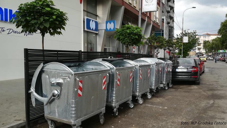 Uskoro stiže 150 novih kontejnera