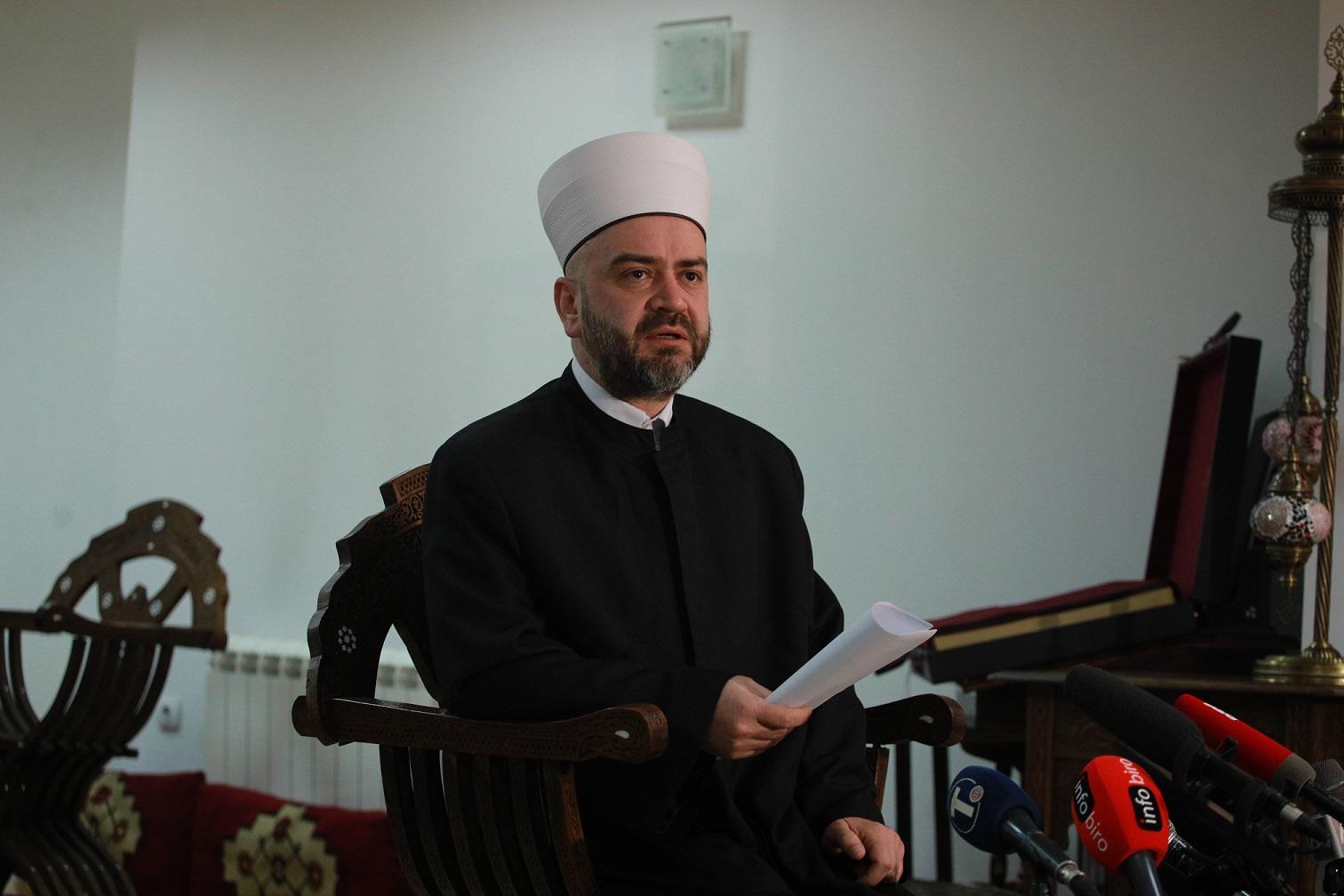 Nasufović: Pitanje aktuelnih nemira u džamiji Al-Aksa rešavati dogovorom