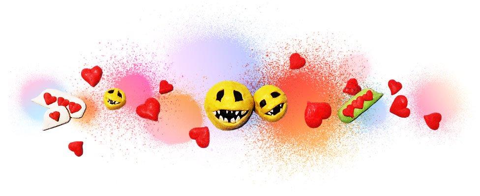 Artistic image of emojis