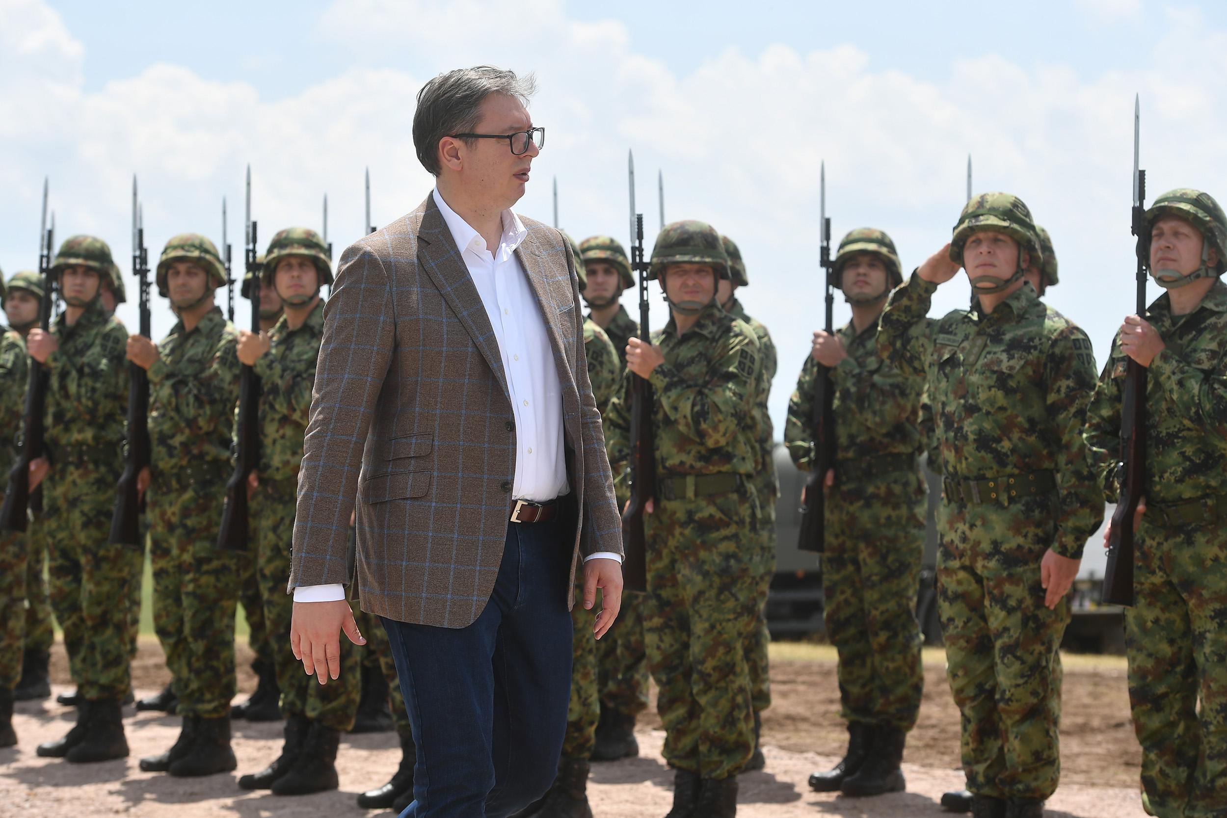 Završena vežba Vojske Srbije na Pešteri