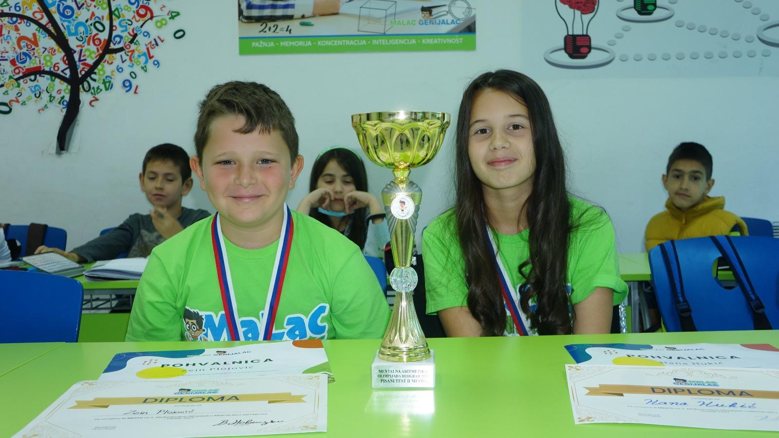 """Mališani školice """"Malac genijalac""""osvajaju vredne nagrade (video)"""