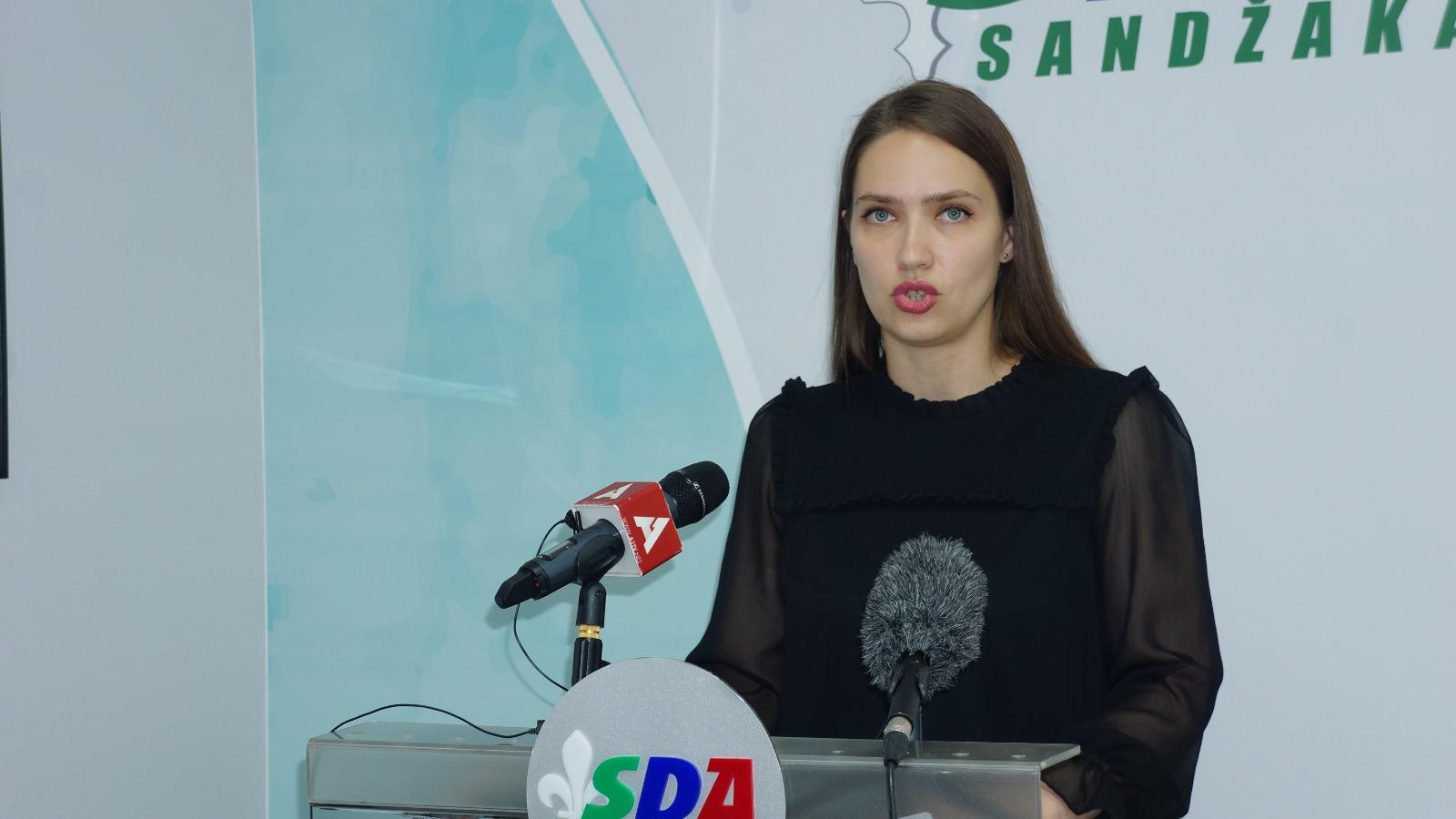 SDA: Nazive ustanova u Novom Pazaru prilagoditi identitetu grada (video)