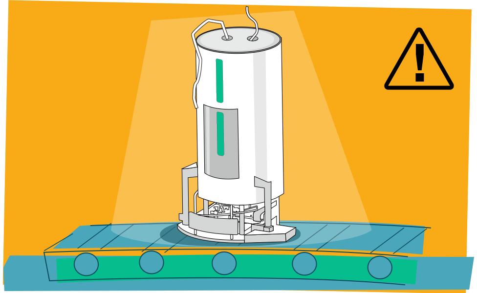 Illustration of a bioreactor