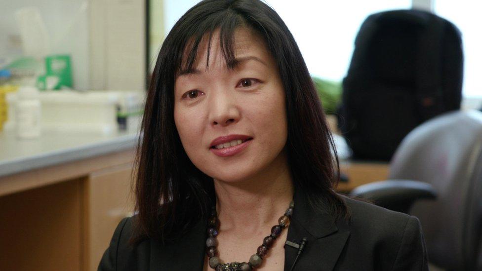 Professor Akiko Iwasaki at Yale School of Medicine