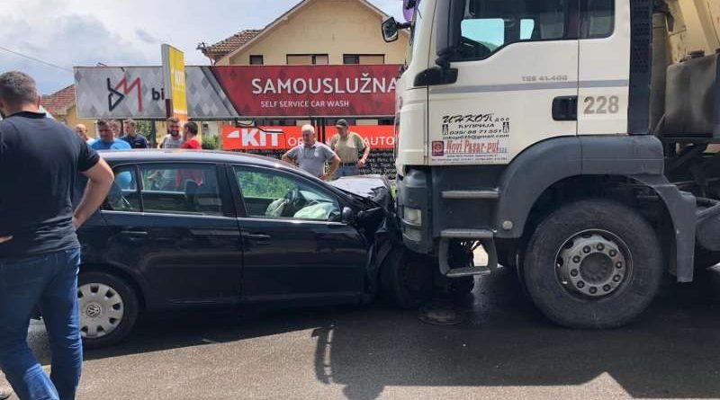 Lakša saobraćajka u Selakovcu