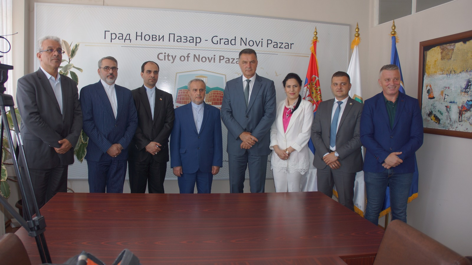 Iranski ambasador posetio Novi Pazar (video)