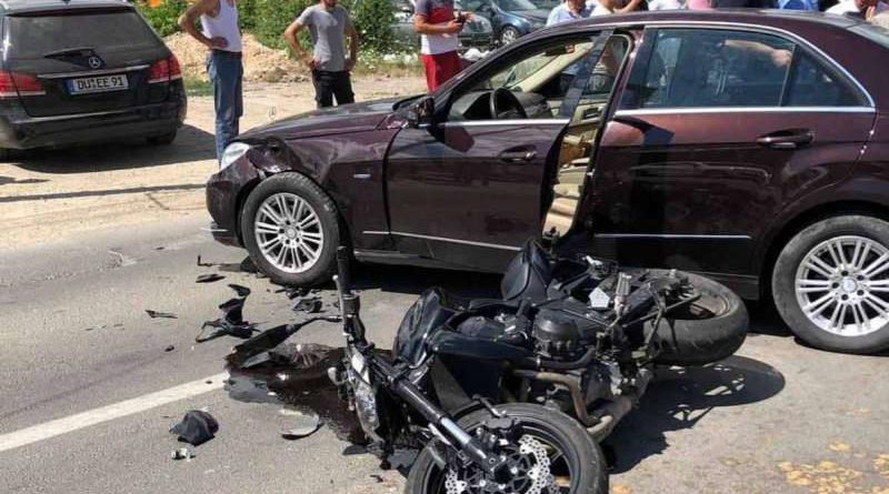 """Povređen motociklista u udesu kod """"Stiga"""""""