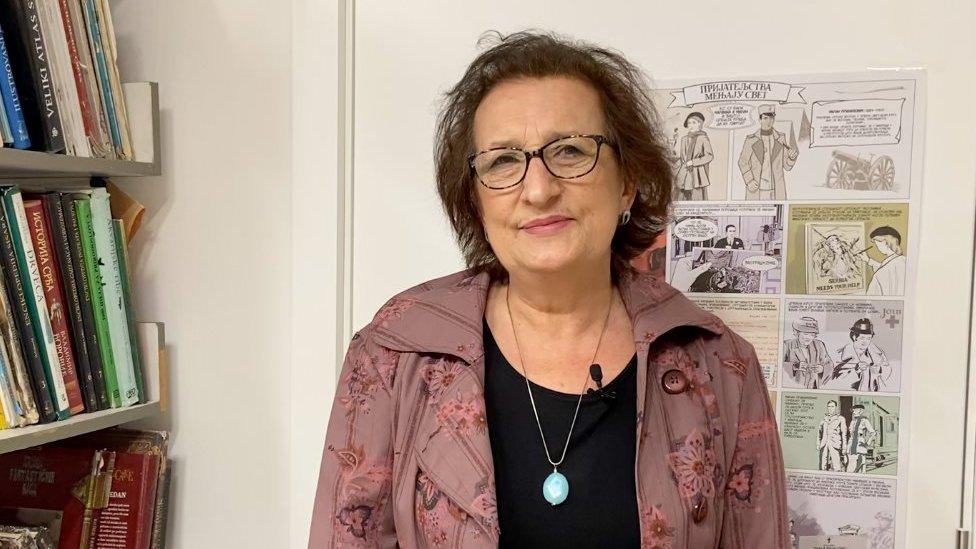 Profesorka srpskog jezika i književnosti Branka Bubanj