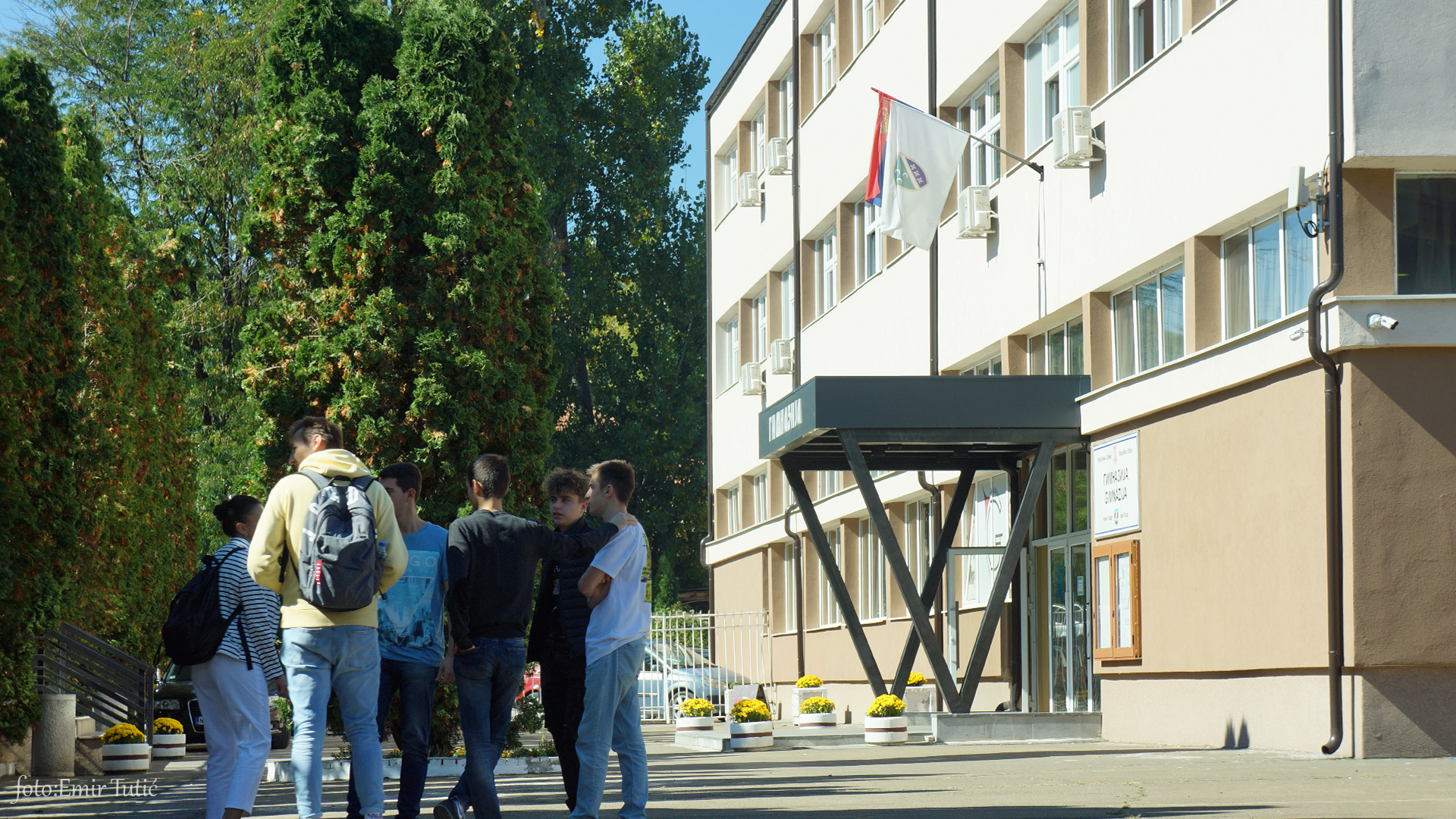Gimnazija srednja škola učenici