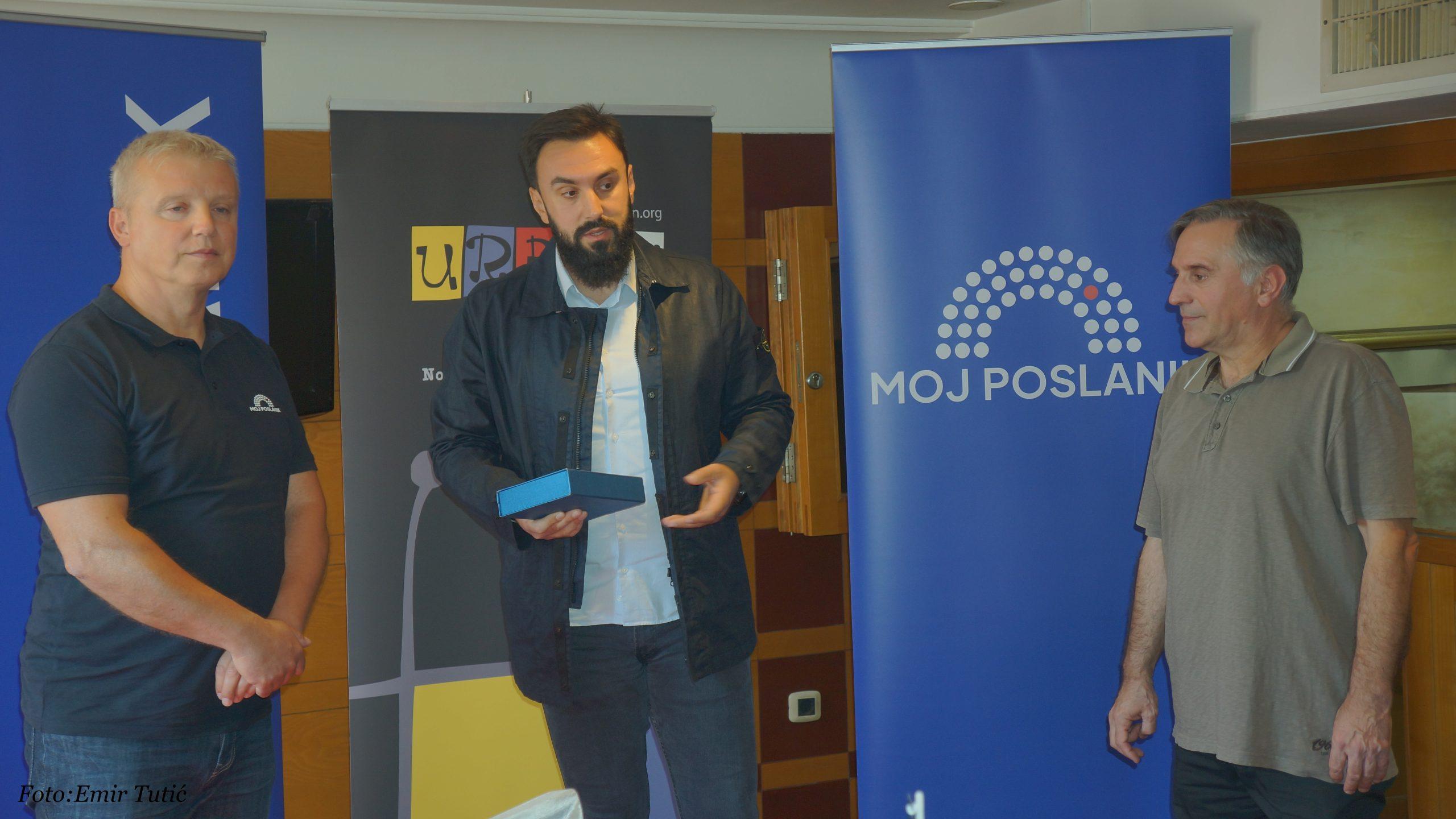 Imamović nagrađen za najaktivnijeg poslanika (video)